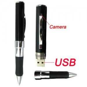 2G Internal Battery Secret Agent Pen Camcorder